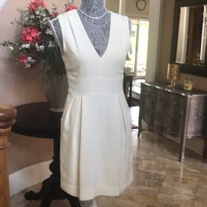 Adam Lippes cream dress